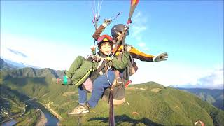 패러글라이딩 탠덤 비행 (Pragliding - Tandom Flying) - 유시우 (단양 활공장, 2017년 10월 2일)
