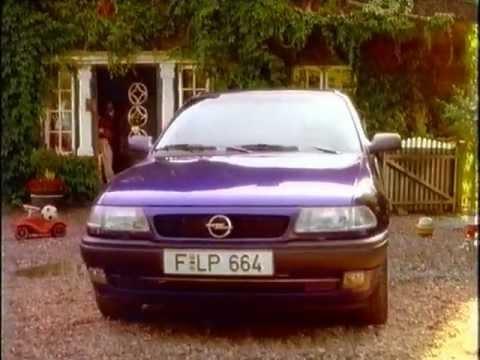 Opel Astra Werbung 1994 Lehrer