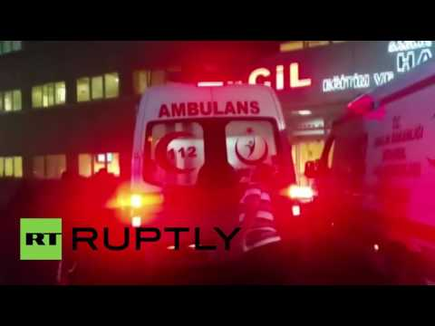 Turkey: Airport bomb attack victim arrives at Istanbul hospital