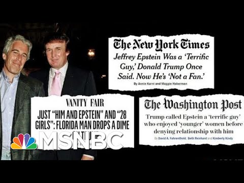 The Pedophile, The Prosecutor, And The President | Deadline | MSNBC