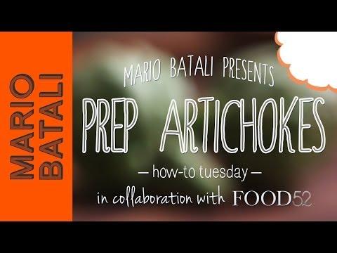 How to Prep Artichokes