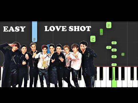 EXO - Love Shot (EASY Piano Tutorial)
