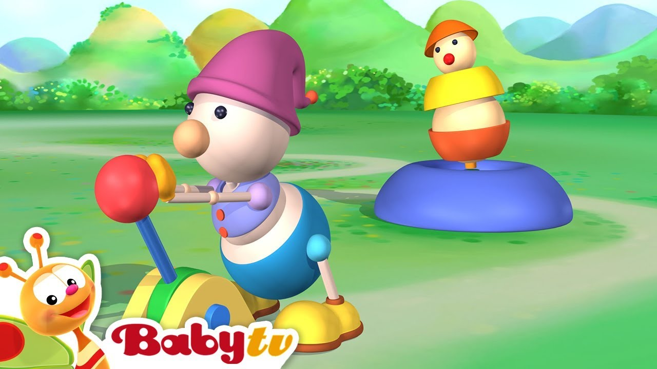 The Ball Game Games For Children Playground Of Toys Babytv Youtube
