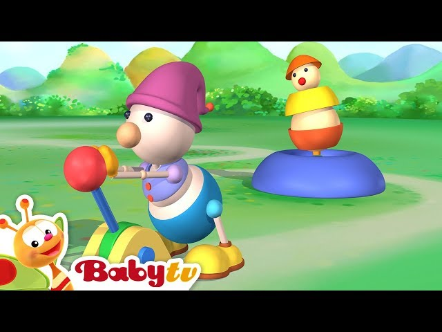 The Ball Game   Games for Children   Playground of Toys   BabyTV