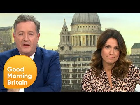 Piers Isn't Coping Well With GMB Losing Out at the NTAs | Good Morning Britain