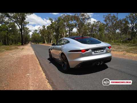 2018 Jaguar F-Type 400 Sport 0-100km/h & engine sound