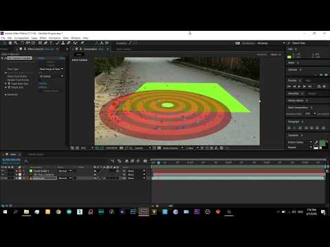 AFTER EFFECTS 3D CAMERA TRACKING Tutorial *Helps Insert 3d Objects In Video*