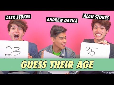 Alan Stokes, Alex Stokes & Andrew Davila - Guess Their Age