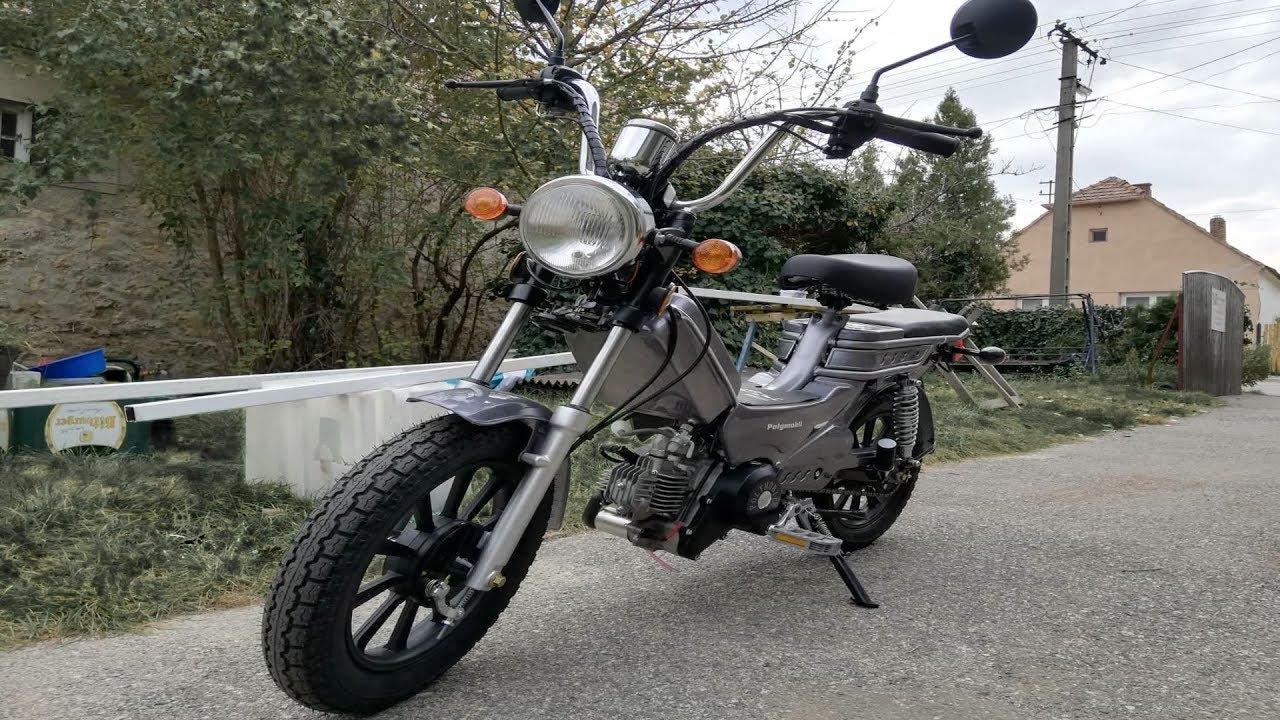 Robbanómotoros kerékpár jogosítvány nélkül 2020