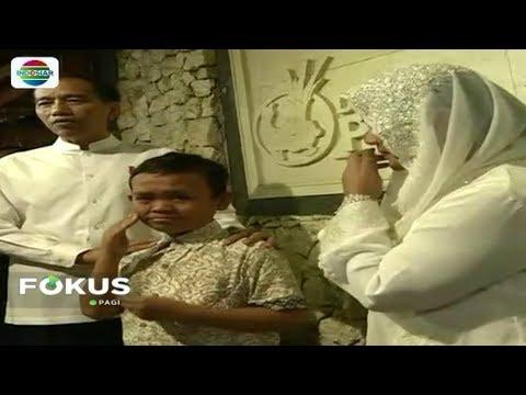 Bocah Asal Bandung Ini Menangis Saat Temui Presiden Jokowi - Fokus Pagi