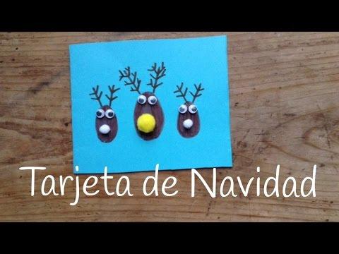 Unas tarjetas de renos, ideales para felicitar la Navidad a los amigos