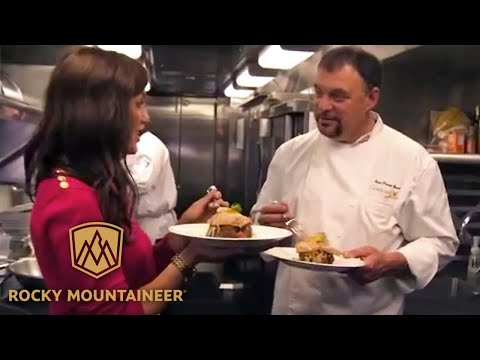 Rocky Mountaineer Culinary Experience