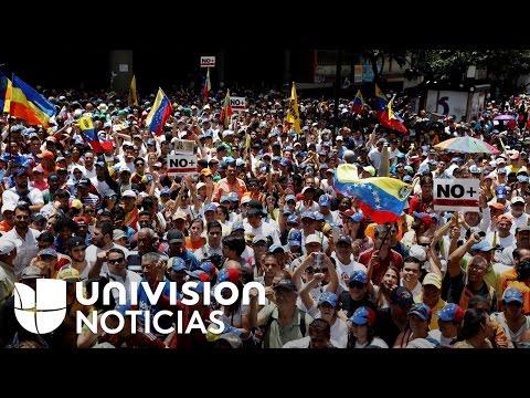 Oposición venezolana vuelve a protestar en las calles, a pesar de las advertencias del gobierno