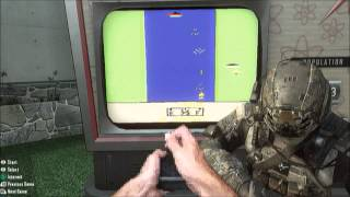 "Black Ops 2: Nuke Town - Hidden Arcade Game ""Easy Voice Tutorial"""