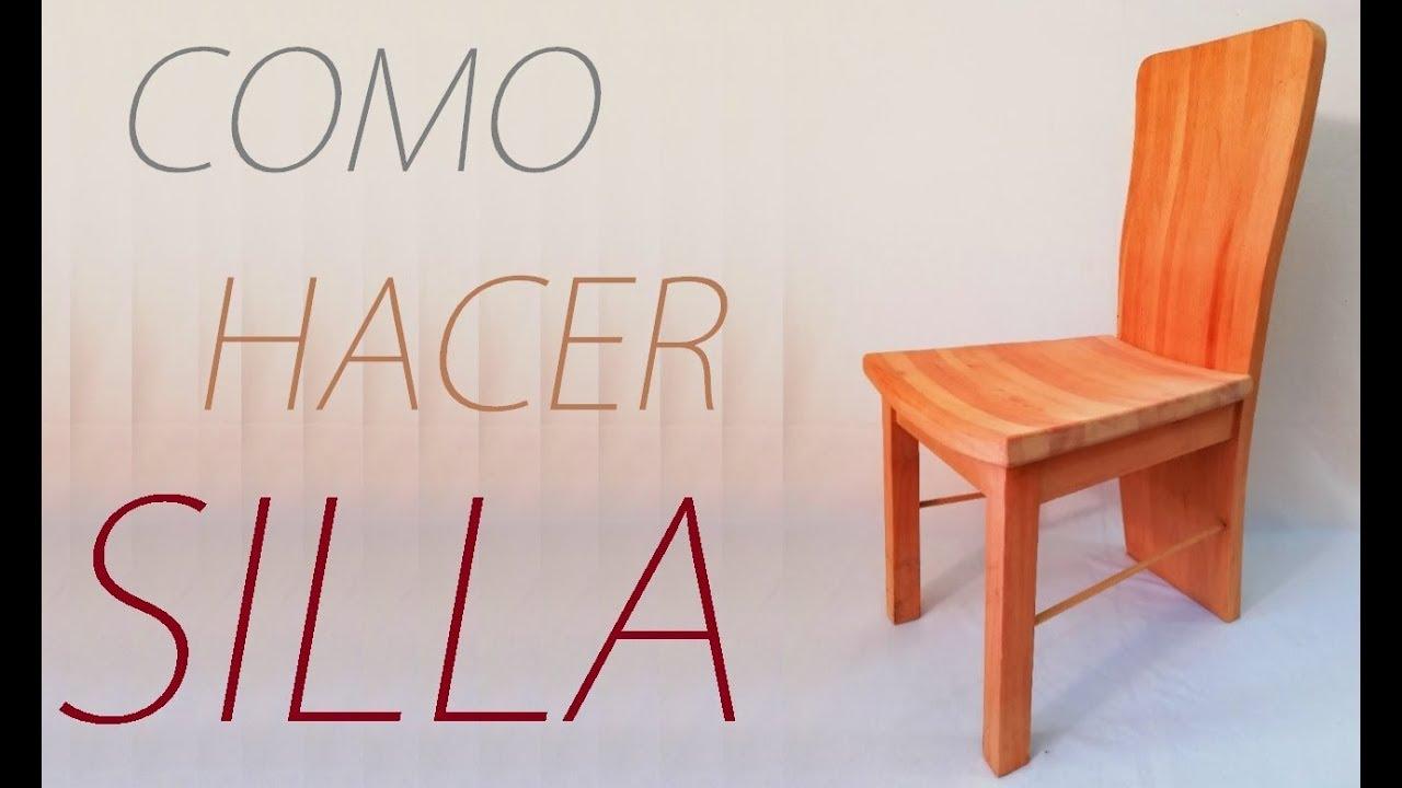 Como hacer una silla de madera paso a paso doblada luis - Como hacer pergolas de madera paso a paso ...