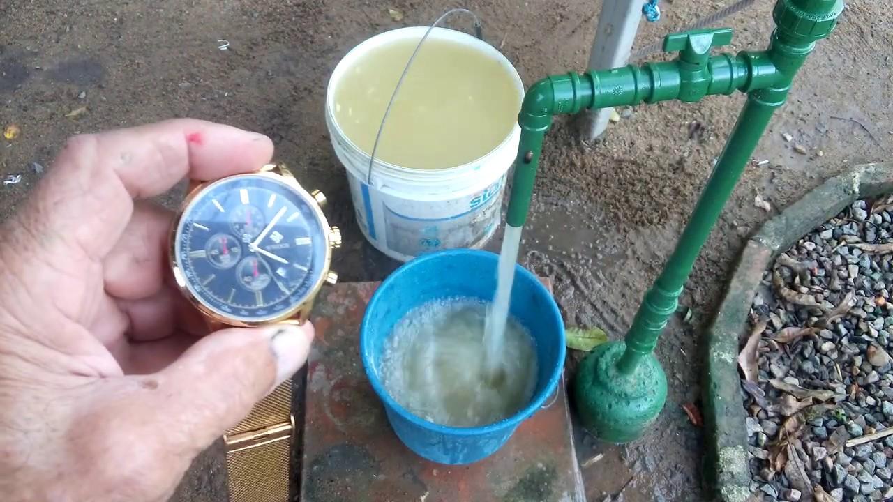POÇO ARTESIANO(teste de bomba submersa,vídeo 04)