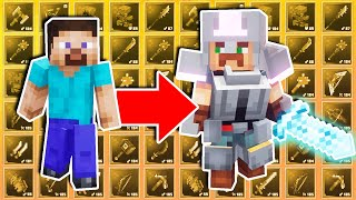 Bringing A Level 1 Noob To The HARDEST Bosses in Minecraft Dungeons