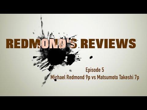 Redmond's Reviews, Episode 5: Michael Redmond 9P v. Matsumoto Takeshi 7P