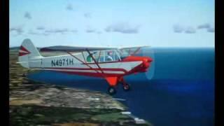 ARAWAN R.C.FLYING SIMULATOR PIPER CUB.wmv