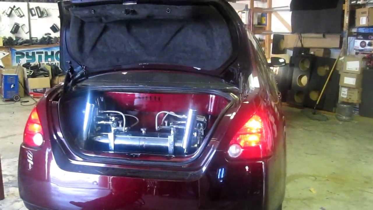Custom Nissan Maxima >> custom nissan maxima stereo 1 Oxnard Ventura - YouTube