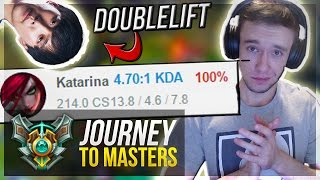 GODMERCY PLAYS!! | 100% WIN RATE - Journey To Masters #8 S7 - League of Legends