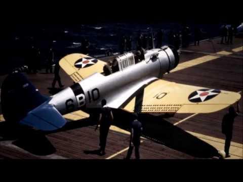 Sky Anchors Aweigh - Rare Us Naval Aviation song (1942) -