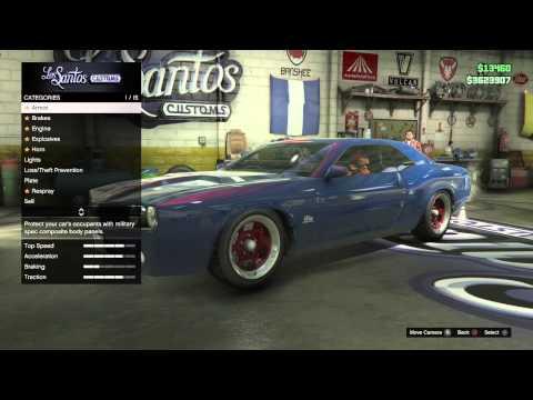 GTA V PS4 online rare secret car - Bravado Gauntlet #ReccX from YouTube · Duration:  1 minutes 48 seconds