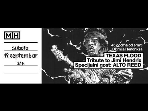 Texas Flood & Alto Reed - Voodoo Child (Slight Return), live, 19.09.2015.