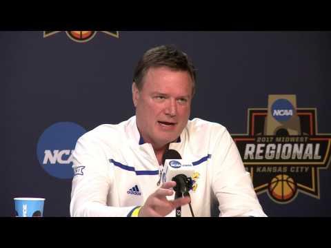 Bill Self NCAA Sweet 16 Press Conference // Kansas Basketball // 3.22.2017