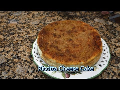 Italian Grandma Makes Ricotta Cheese Cake