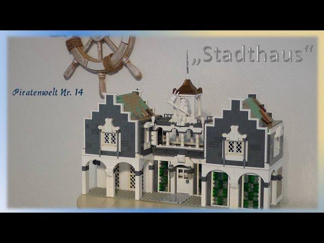 Lego Piraten im Steinekeller # 14 - das Stadthaus