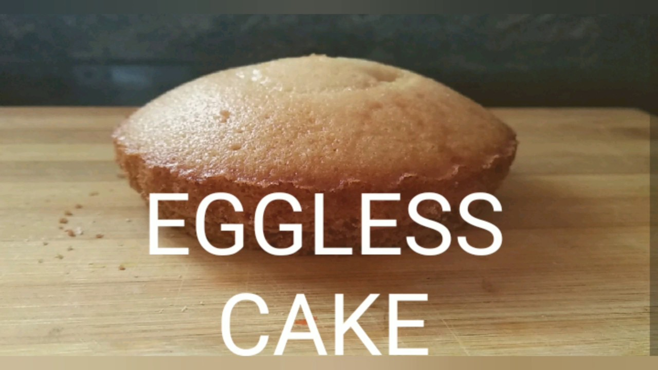 4 INGREDIENTS EGGLESS CAKE RECIPE |WITHOUT OVEN ,EGG ...