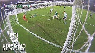 Autogol del Conejo Brizuela y Argentina vence 2-0 a México