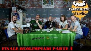 Lucca Comics & Games] Boardgame Studio: Finali Ruolimpiadi 2017 Parte 4