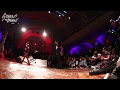GROOVE'N'MOVE BATTLE 2015 - Tutting quarter-final / Oussama vs Celso Boog