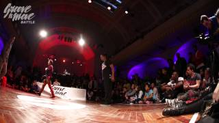 GROOVE'N'MOVE BATTLE 2015 - Tutting quarter-final / Oussama vs Celso Boog
