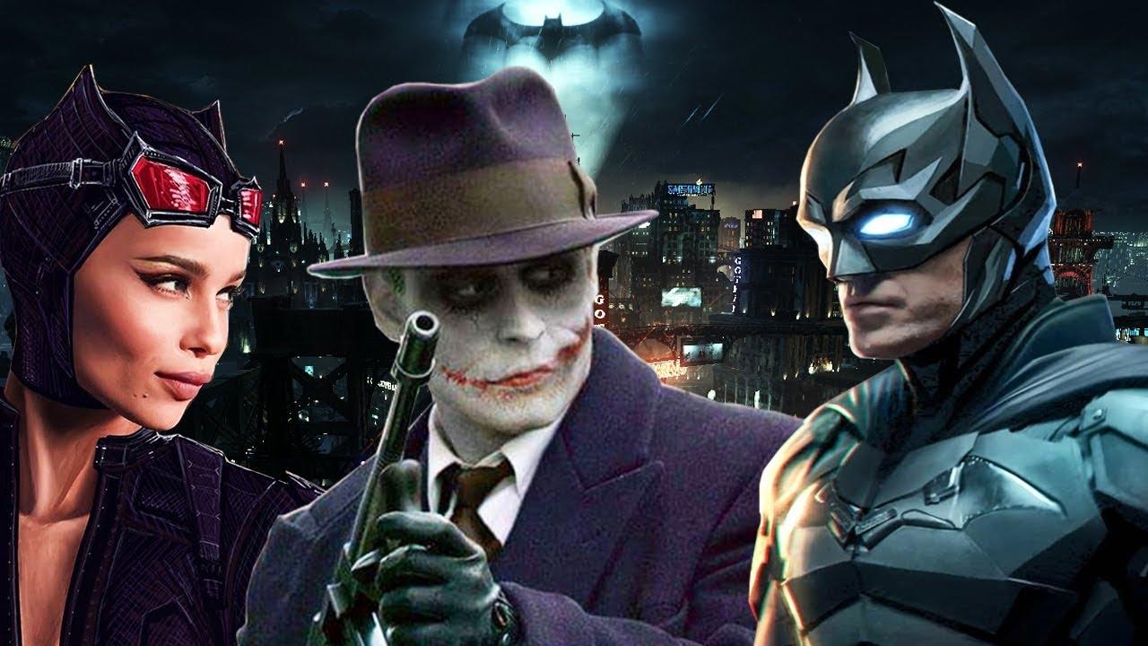 THE BATMAN 2021 THE JOKER REVEALED? BATMOBILE Scene DETAILS ...