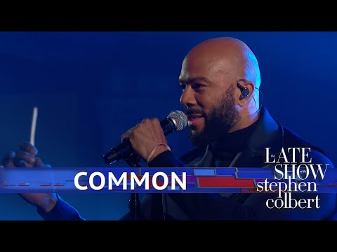 KJ Brooks - Common Performs for Michelle Obama...Powerful!!!
