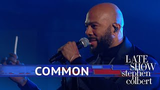 Common Performs A FLOTUS-Inspired Medley