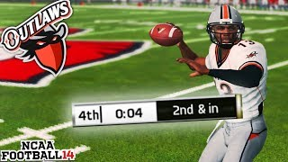 It All Comes Down to the Final Play! NCAA 14 Ozark State Outlaws Dynasty Ep. 33