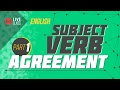 English - Subject Verb Agreement [SSC | HSC | Admission]
