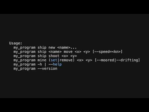 PyCon UK 2012: Create *beautiful* command-line interfaces with