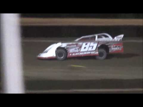 Salina Speedway BSB Manufacturing Late Models *Heat races* 4-14-17