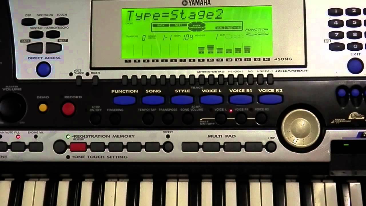 YAMAHA PSR 540 MIDI WINDOWS 8 DRIVER