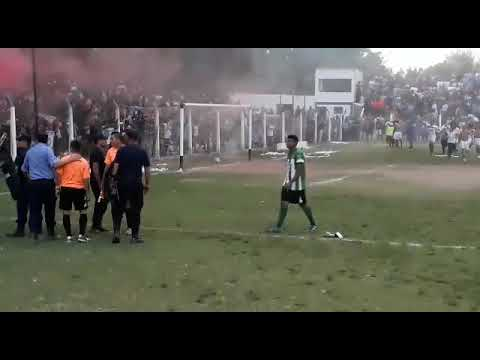 Incidentes semifinal Torneo Provincial: Juventud vs Tinogasta Central
