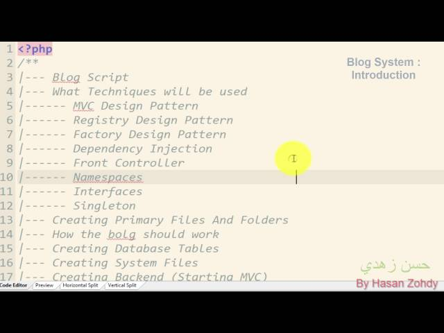 Advanced PHP MVC Blog System [Complete]