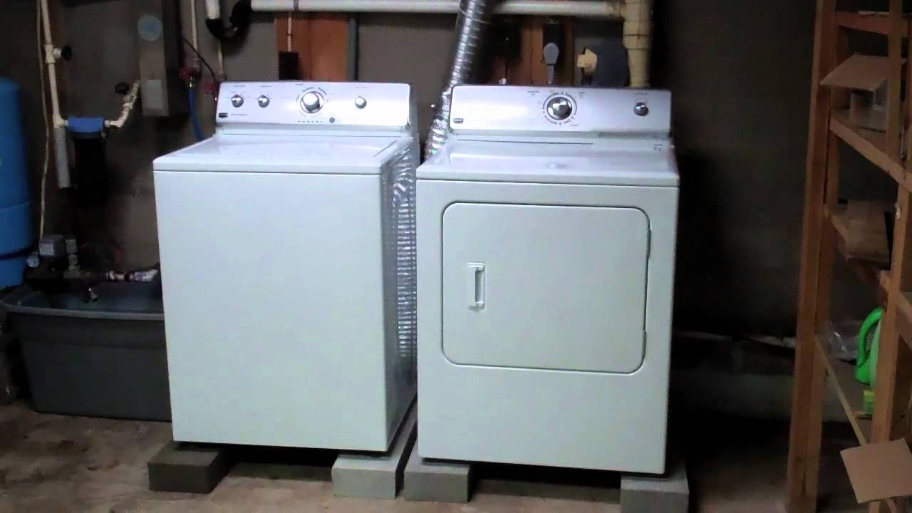 Our New Washer And Dryer Youtube