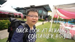 Quick Look at Kluang's Container Hotel [Travel Vlog 4] 快速浏览居銮集装箱酒店