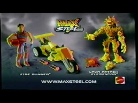Max Steel Tv Spots 2006 Remasterizados HD