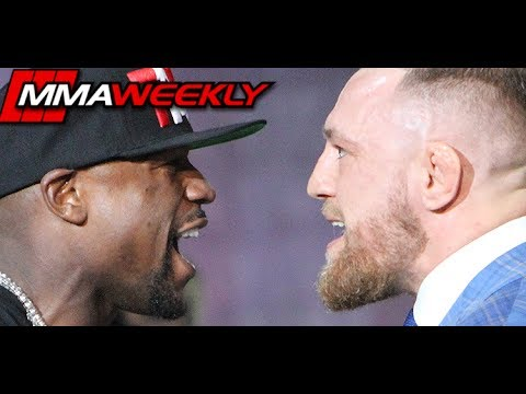 Thumbnail: Floyd Mayweather vs Conor McGregor Opening Face-Off at World Tour Toronto